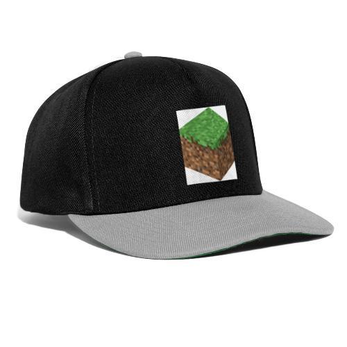 mincreft block - Snapback cap