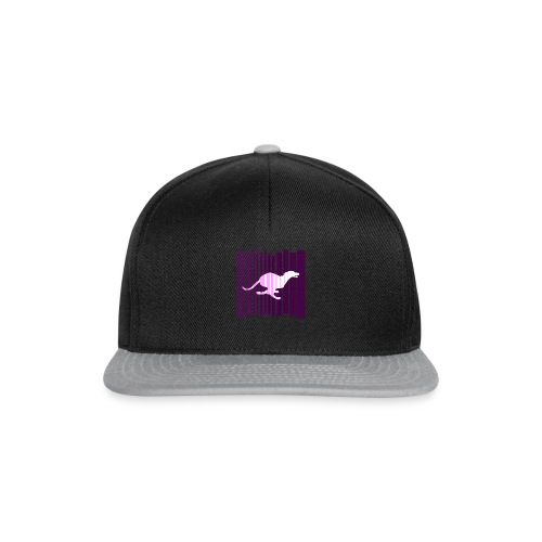 Sighthound In Purple Women's T - Snapback Cap