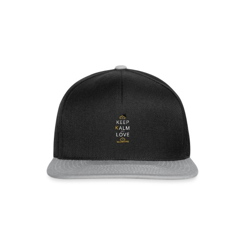 Keep kalm and love YellowCloud ! - Casquette snapback