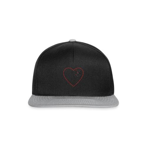isch-lieb-disch-Herz - Snapback Cap