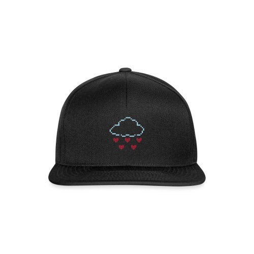 Wolke Pixelherz - Snapback Cap
