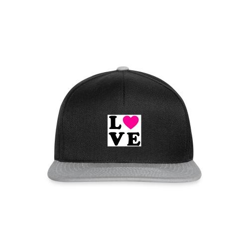 Love t-shirt - Casquette snapback