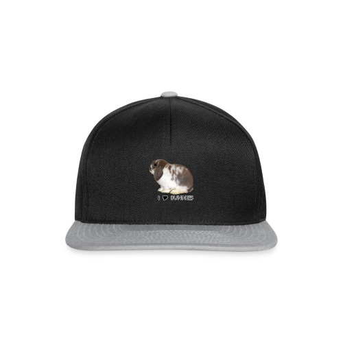 I Love Bunnies Luppis - Snapback Cap