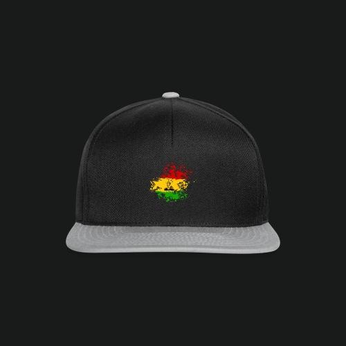 dc_10_logo_rastanew_passe - Snapback Cap