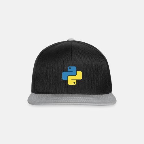 Python Pixelart - Snapback Cap
