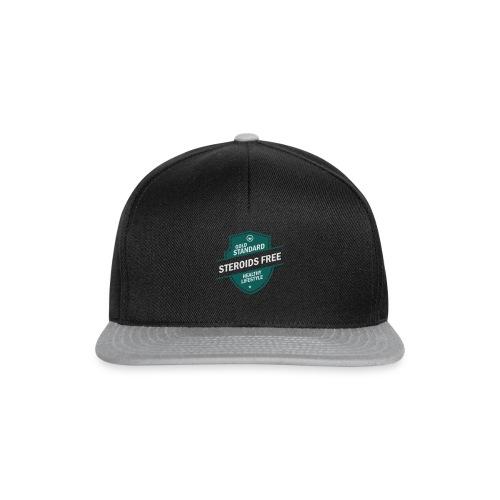 GoldStd-SteroidsFree-33 - Snapback Cap