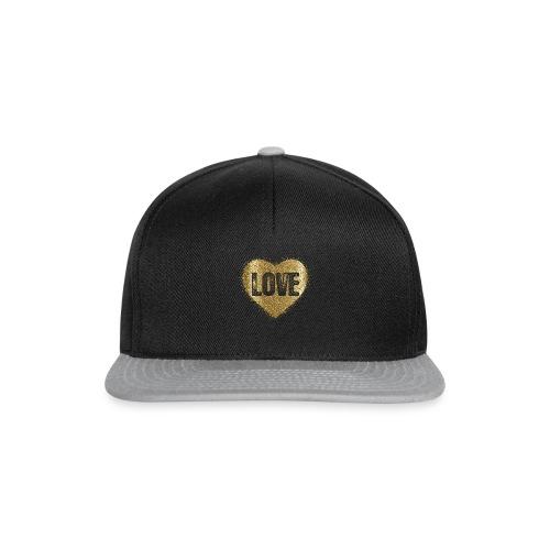 Heart-5 - Snapback Cap