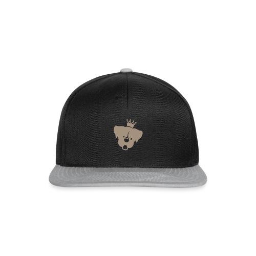 Prinz Poldi braun - Snapback Cap