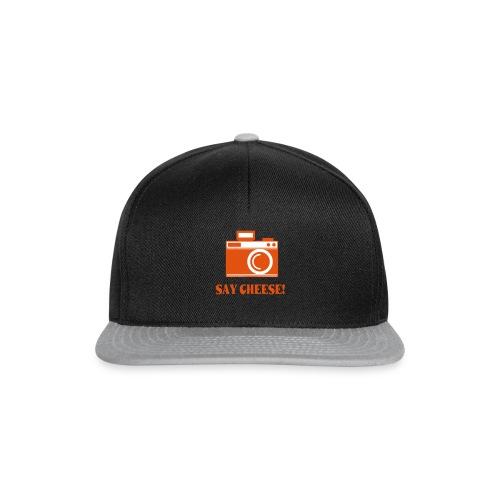 say cheese - Snapback cap