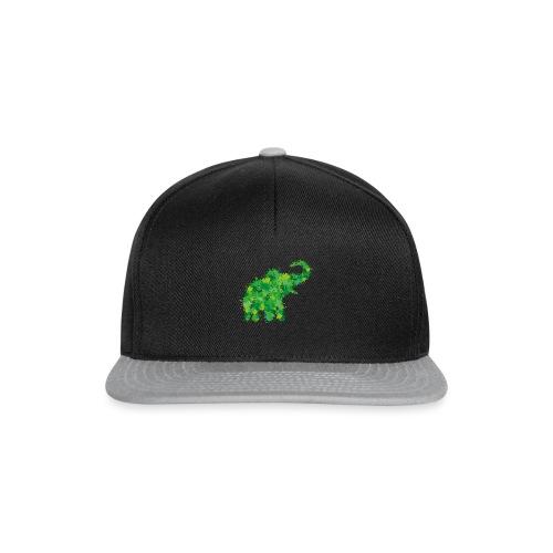 Elefant Farbklecks - Snapback Cap