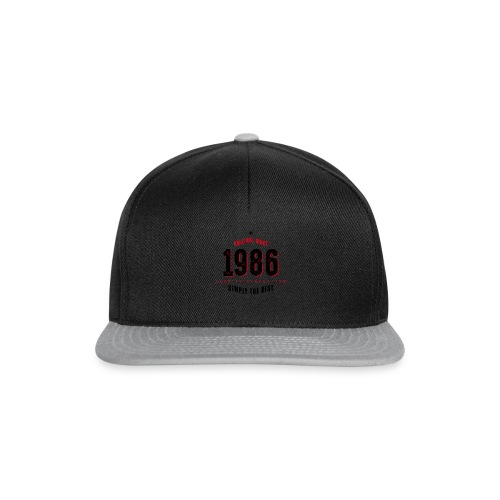 original since 1986 simply the best 30th birthday - Snapback Cap