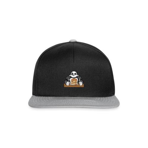 Fitness Panda eat Pancakes - Snapback Cap