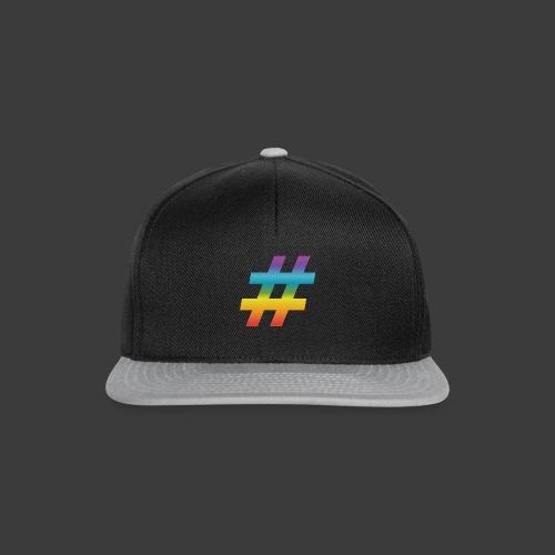 rainbow hash include - Snapback Cap