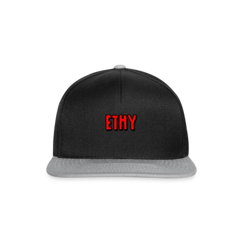 Black Design - Snapback Cap
