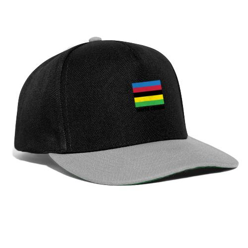 world champion cycling stripes - Snapback cap