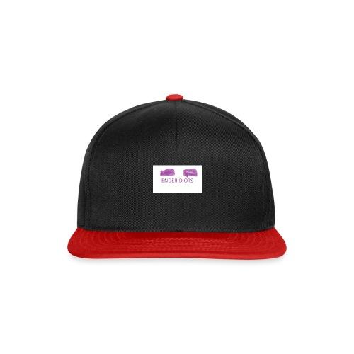 enderproductions enderidiots design - Snapback Cap