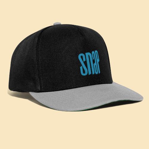 SNAP blue 003 - Snapback Cap