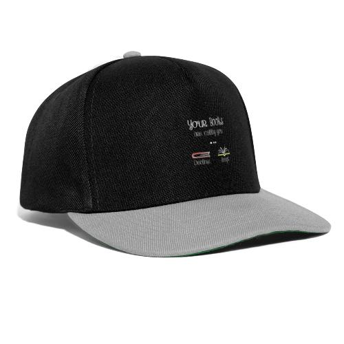 0141 Your books are calling you. - Snapback Cap