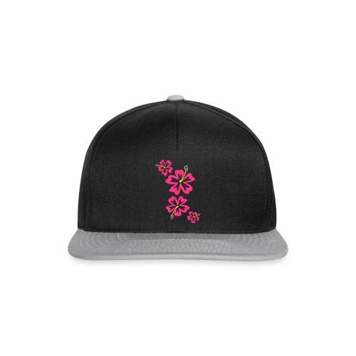 Hawaii Flower - Snapback Cap