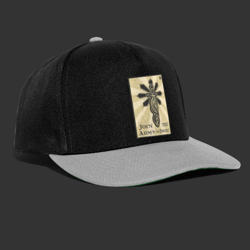 Join the army jpg - Snapback Cap
