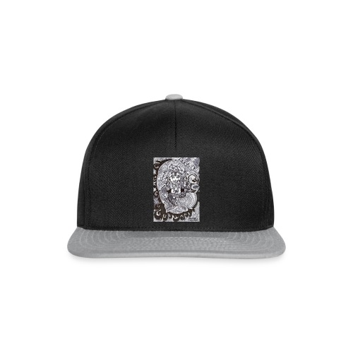 Psychedelic Ganesha - Snapback Cap