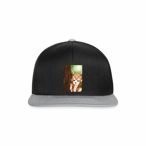 Sam sung s6:Deer-girl design by Tina Ditte - Snapback Cap