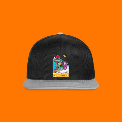 reflected-caaars - Snapback Cap