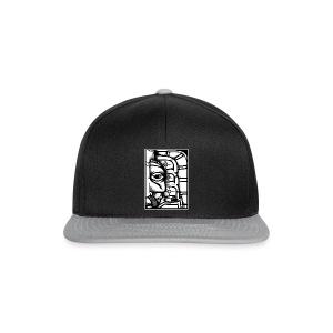 Black n White Shaman - Snapback-caps