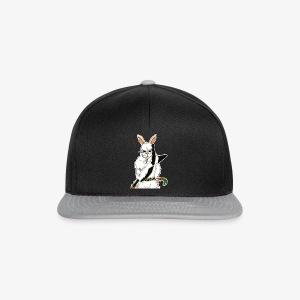 The white Rabbit - Snapback Cap
