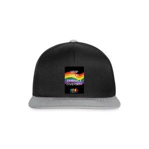 T-shirt, tonåring, embrace diversity - Snapbackkeps