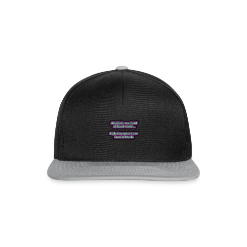 waarheid hard - Snapback cap
