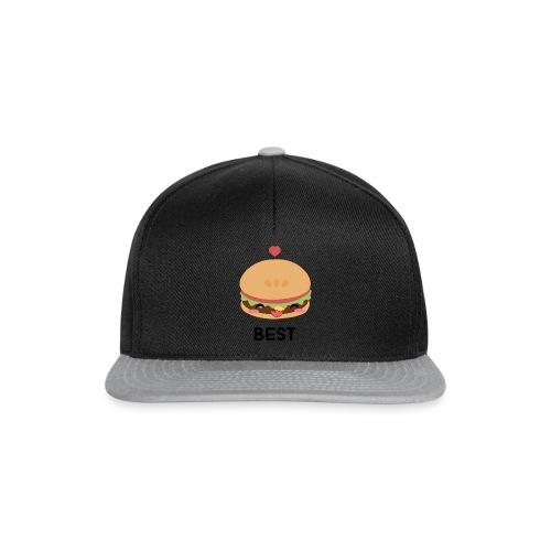 hamburger - Snapback Cap