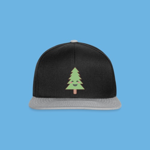Kawaii Christmas Tree - Snapback Cap
