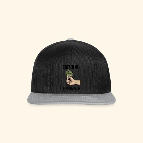 Einfach mal die kresse halten - Snapback Cap