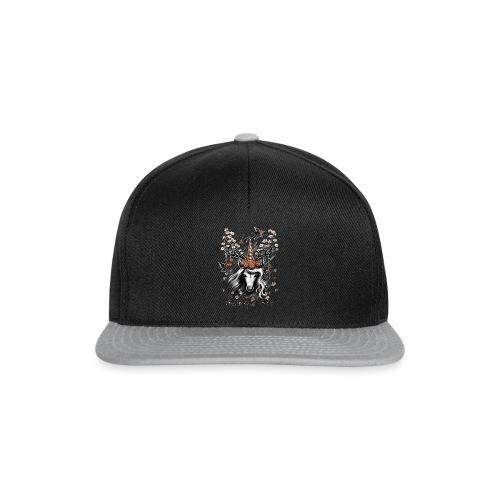 Deer Unicorn Flowers - Snapback Cap