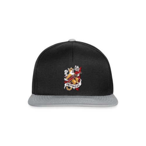 Meowsic - Snapback Cap