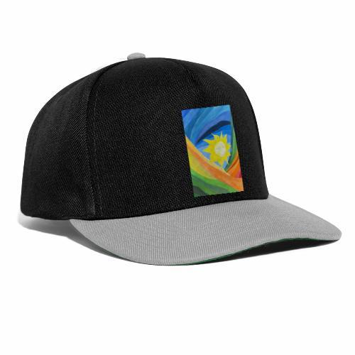 lachende-sonne - Snapback Cap