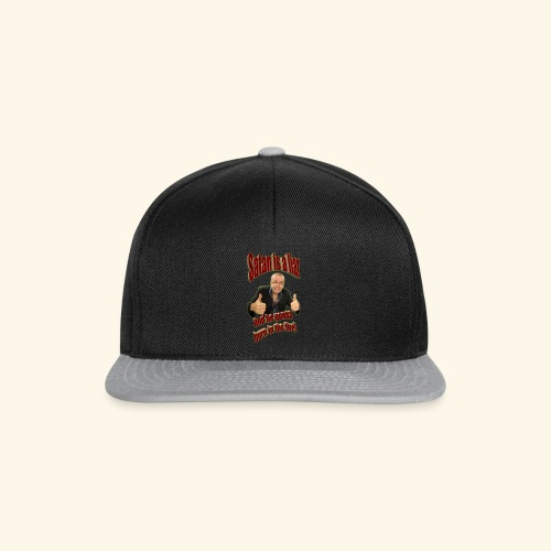 Satan is a liar - Snapback-caps