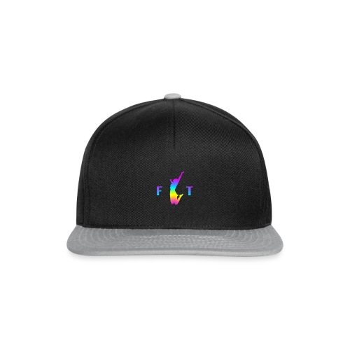 Fit fitness wellness happiness - Casquette snapback