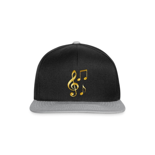 Music Notes - Snapback Cap