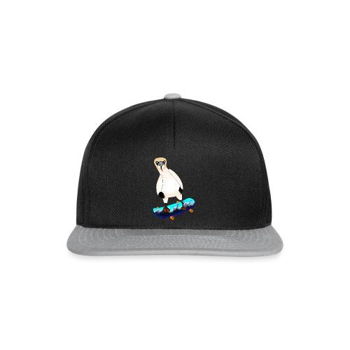 Skateboarding gannet - Snapback Cap