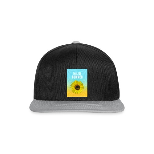 sunflower endless summer Sonnenblume Sommer - Snapback Cap