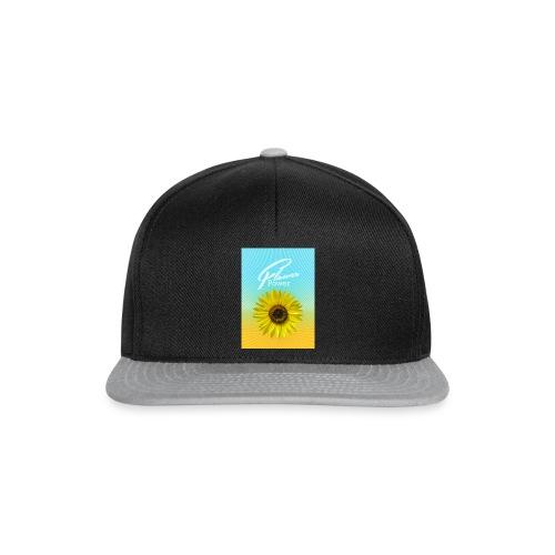 Sonnenblume Sommer Sonnenstrahlen glücklich hygge - Snapback Cap