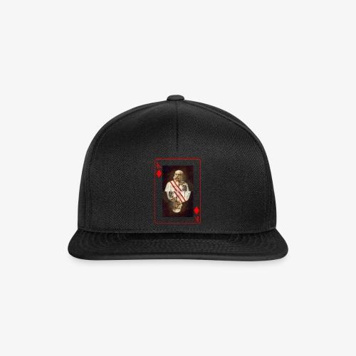 Kaiser Franz von Österreich spielkarte - Snapback Cap