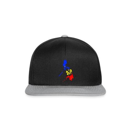 Philippinen Karte - Snapback Cap
