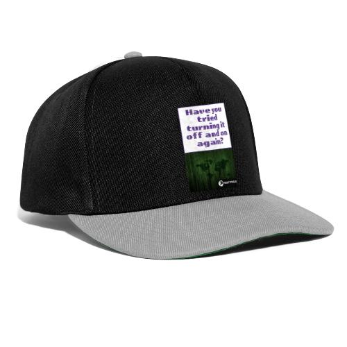 Off and on again - Snapback Cap