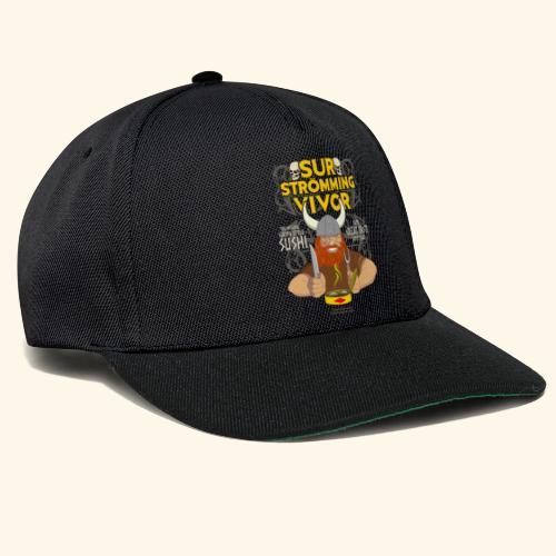 Survivor Wikinger   Surströmming T-Shirts - Snapback Cap