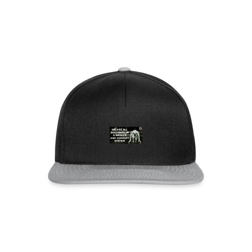 BROKEN MACHINES COLLECTION BY SYSTEM MACHINE - Snapback Cap