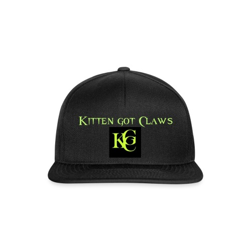Kitten got Claws Logo - Snapback Cap
