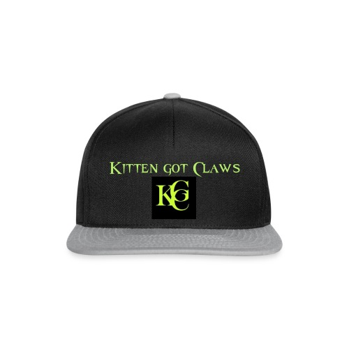 Kitten got Claws Logo - Snapback Cap